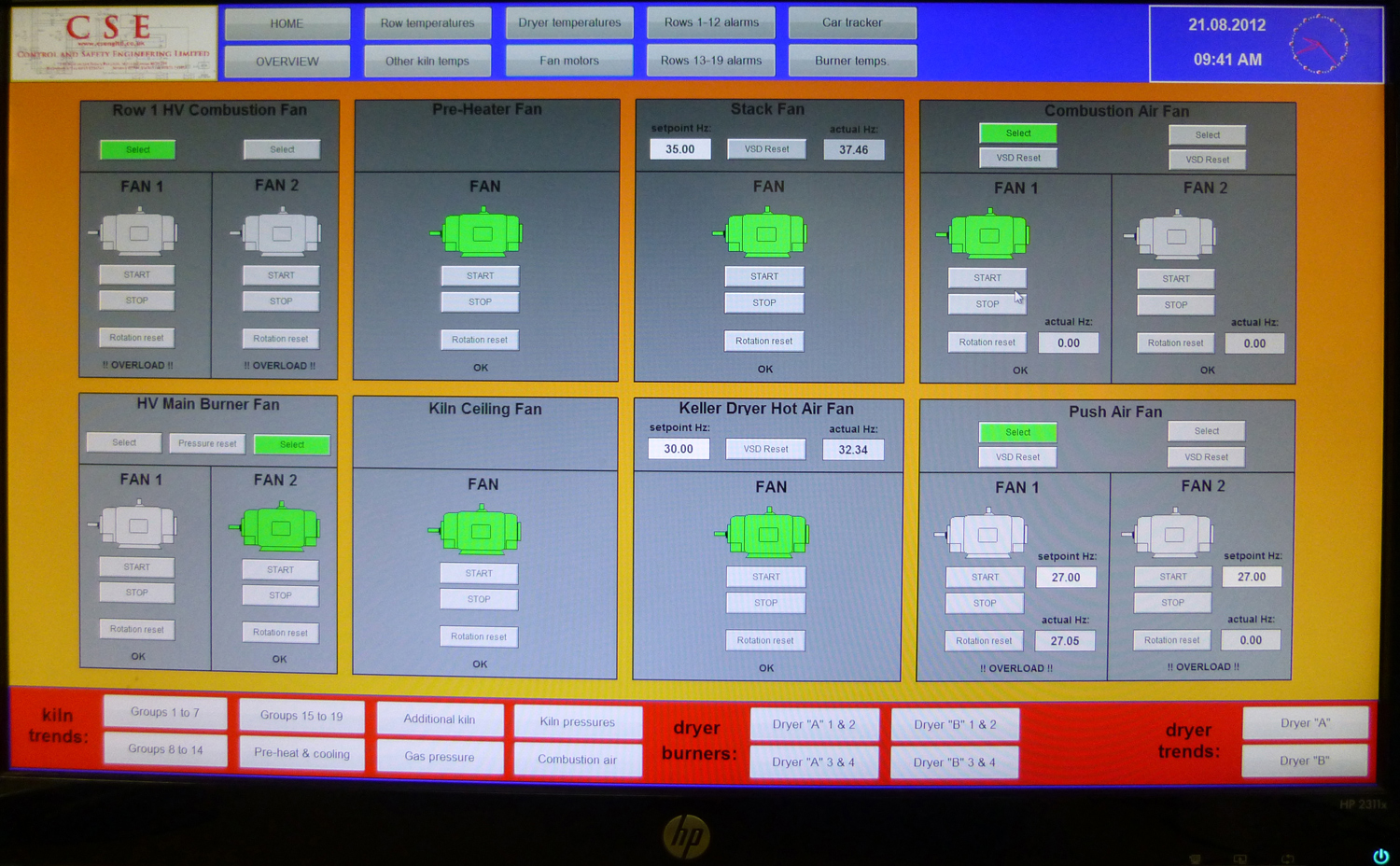 SCADA - Control and Safety Eng Ltd